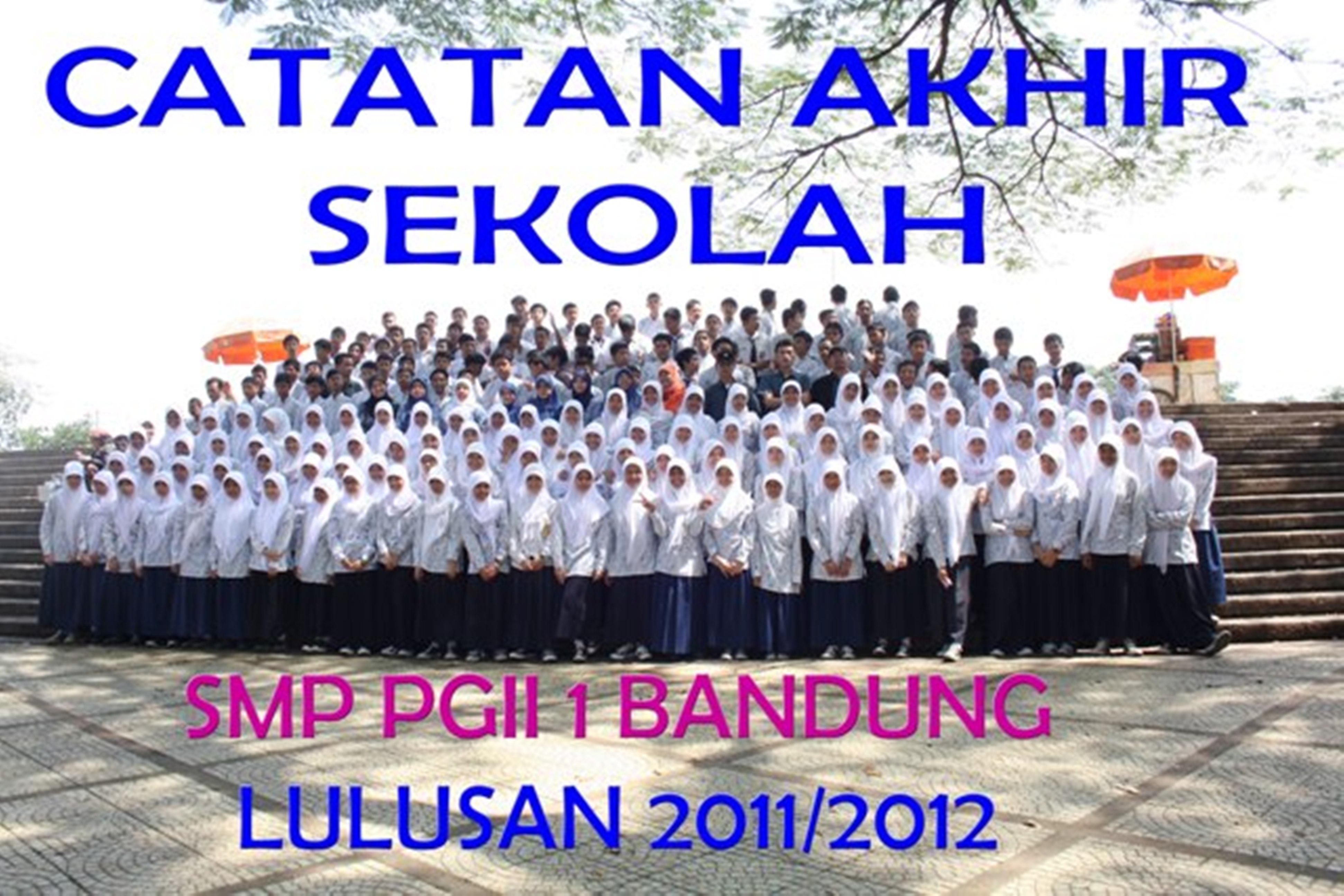 smp pgii 1 lulusan 2011-2012